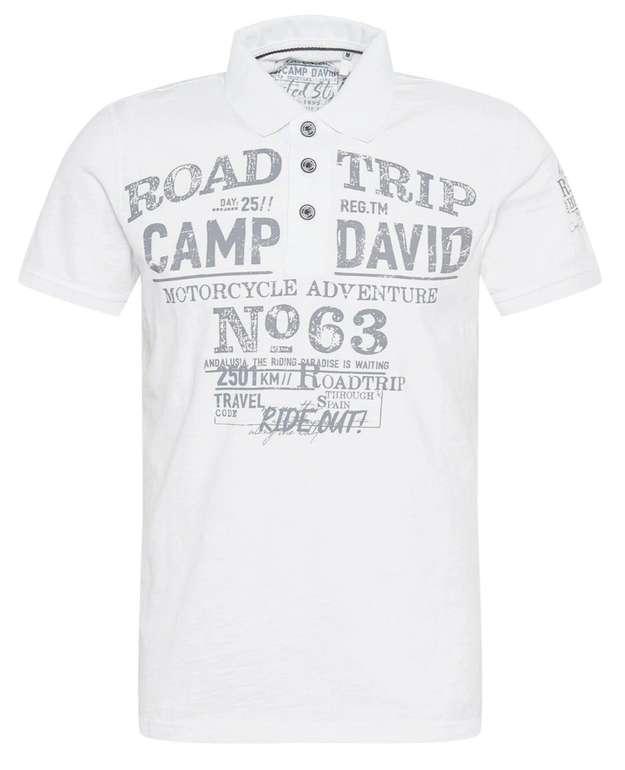 Camp David Shirt in Grau / Weiß für 29,95€ inkl. Versand (statt 56€)