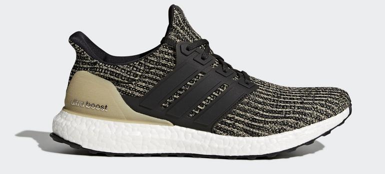 Adidas Ultraboost 4.0 Gold/Schwarz Sneaker für 85,47€ inkl. Versand (statt 105€)