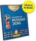 Panini Album - Fifa World Cup Russia 2018 (+ 6 Sticker) kostenlos bestellen