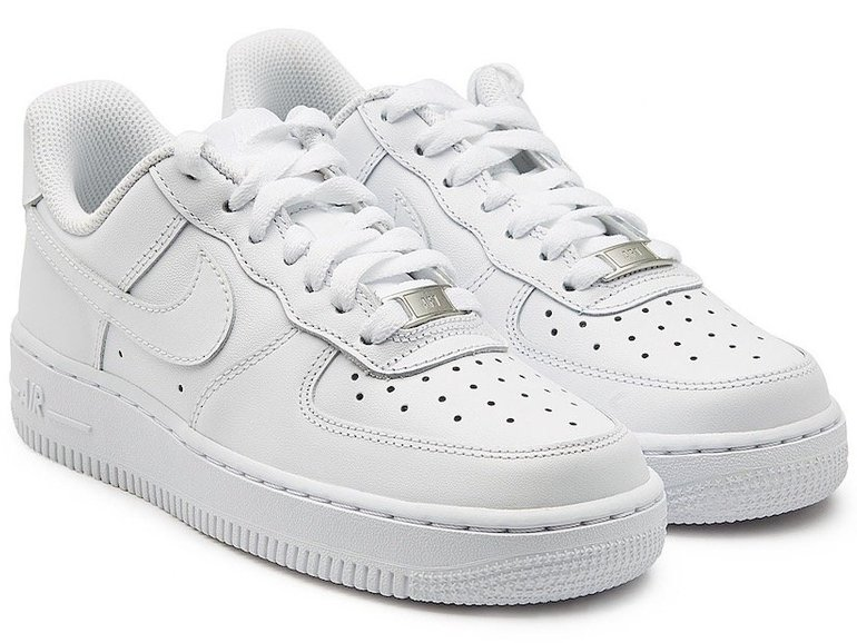 "Nike Air Force 1 ""All White"" Colourway für 60€ inkl. Versand (kleine Größen)"
