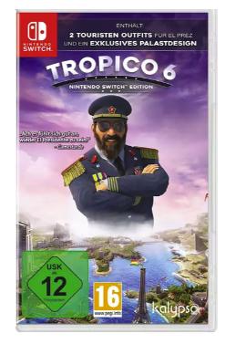Tropico 6 für die Nintendo Switch für 33,62€inkl. Versand (statt 39€)