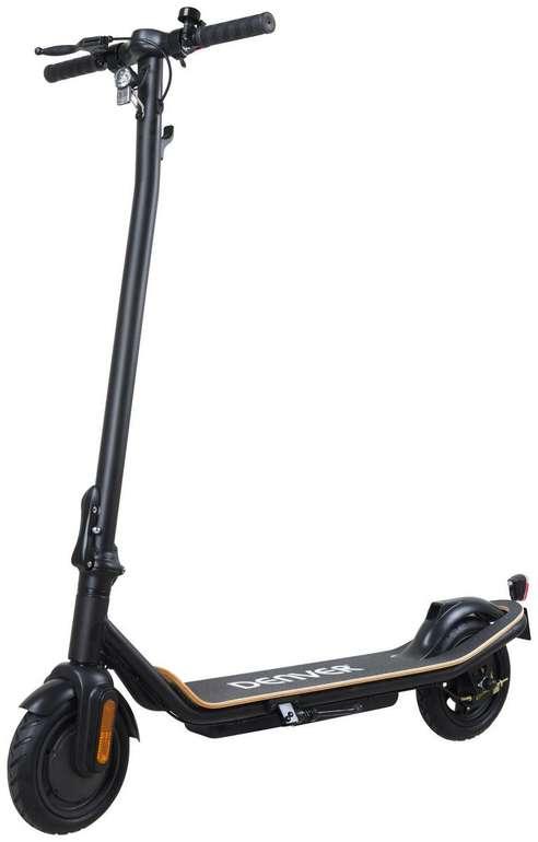 Denver E-scooter in schwarz (350 Watt, 20km Reichweite, 20km/h) für 306€ inkl. Versand (statt 345€)