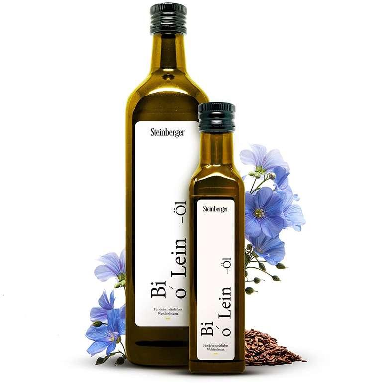 Amazon Prime Day: Steinberger Öle reduziert, z.B. 250ml Bio Leinöl für 6,25€ inkl. Prime Versand