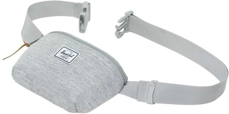 herschel-fourteen-hip-pack-light-grey-crosshatch