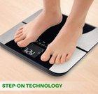 Smart Weigh Digitale Körperfett-Personenwaage mit vielen Features für 19,99€