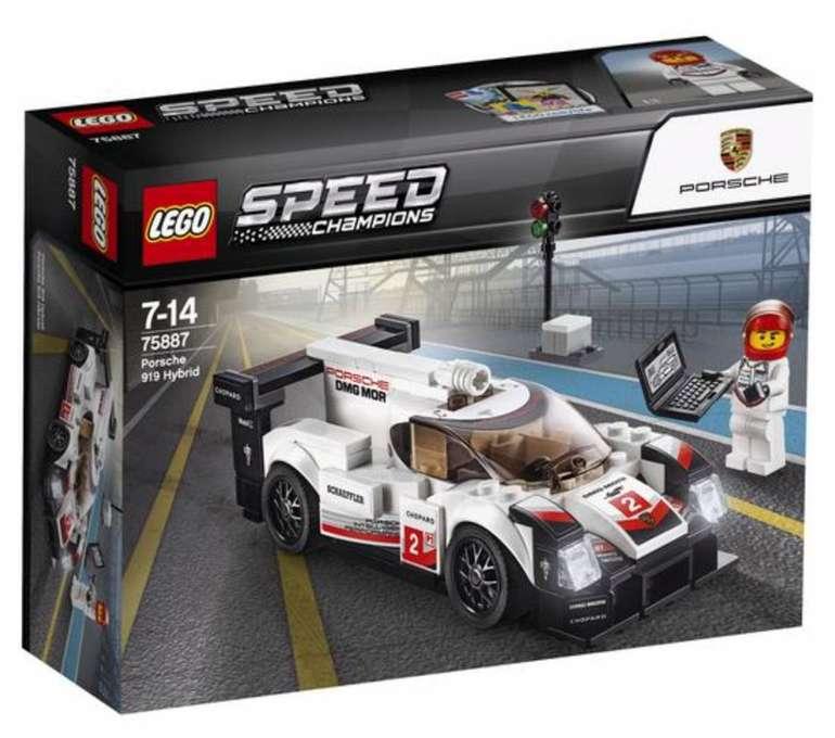 Lego Speed Champions - Porsche 919 Hybrid (75887) für 14,99€ (statt 25€)