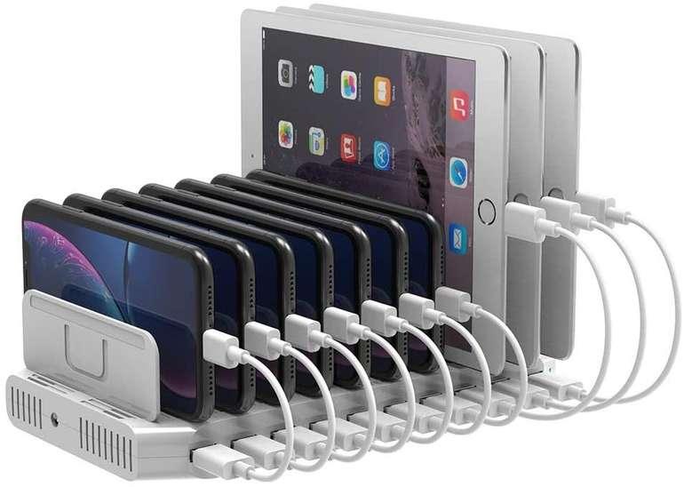 Unitek Multi USB Ladestation (QC 3.0, SmartIC) für 32,39€ inkl. Versand (statt 54€)