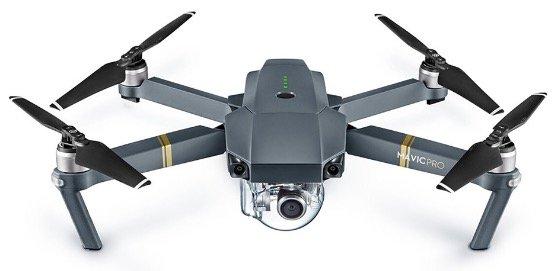 "DJI Mavic Pro 4K Drohne (RTF) für 580€ inkl. Versand - Zustand ""Sehr gut"""