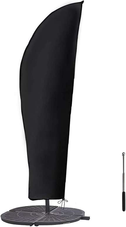 Gemitto Sonnenschirm Schutzhülle (mit Stab, 2 bis 4m) für 10,99€ inkl. Prime Versand (statt 22€)