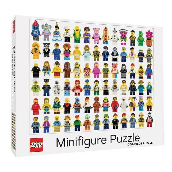 Abrams & Chronicle Lego Minifigure Puzzle mit über 1.000 Teile für 12,49€ (statt 24€) - Thalia Club!
