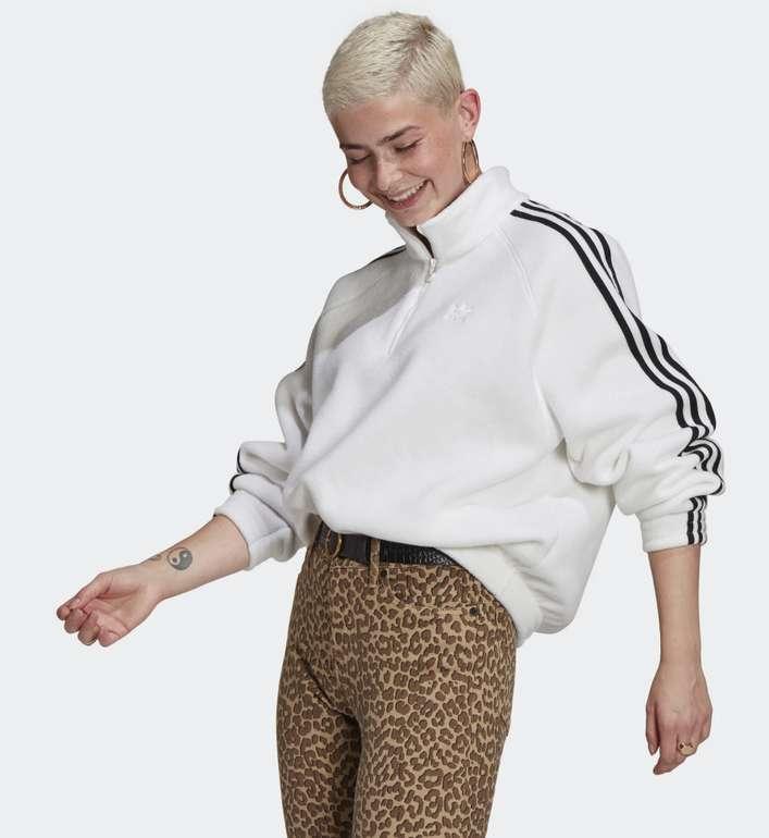 Adidas Adicolor Classics Polar Fleece Half-Zip Sweatshirt für 28,60€ inkl. Versand (statt 47€)