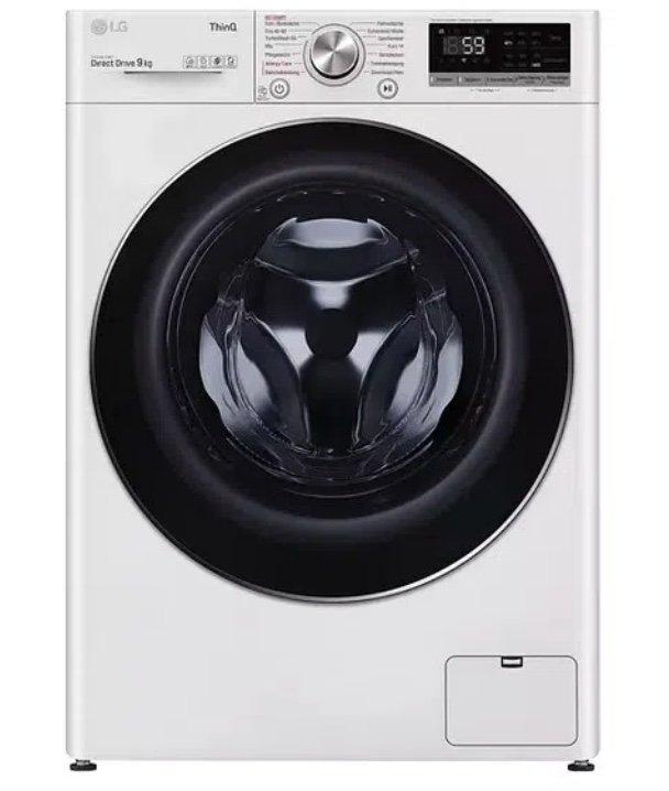 LG F4WV591 - 9kg Waschmaschine mit App-Anbindung (1360 U/Min.) für 489€ (statt 534€) - Newsletter!