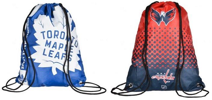 NHL Drawstring Gym Bags für je nur 8,99€ zzgl. VSK (statt 17€)
