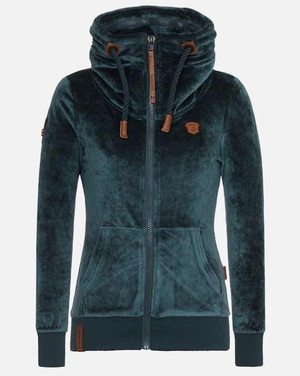 Naketano Damen Jacke in braun smaragd für 21,45€ inkl.…