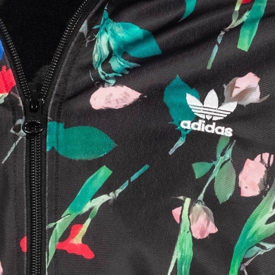 adidas Originals Bellista All Over Print Cropped Damen Trainingsjacke