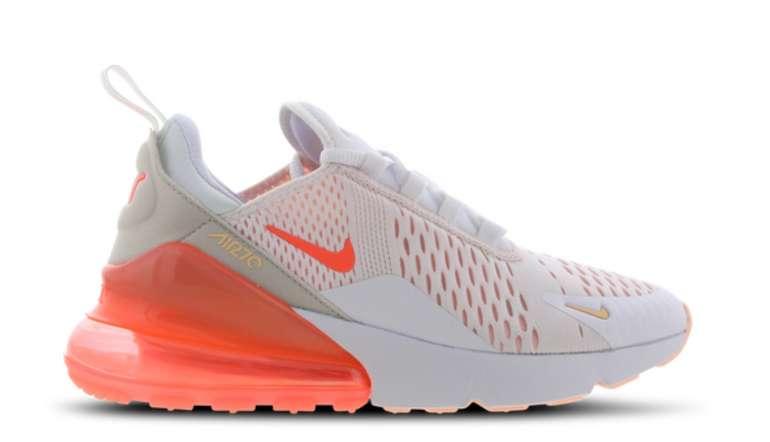 Nike Air Max 270 Ess As1 Damen Sneaker im Mango-Colourway für 99,99€inkl. Versand (statt 118€)