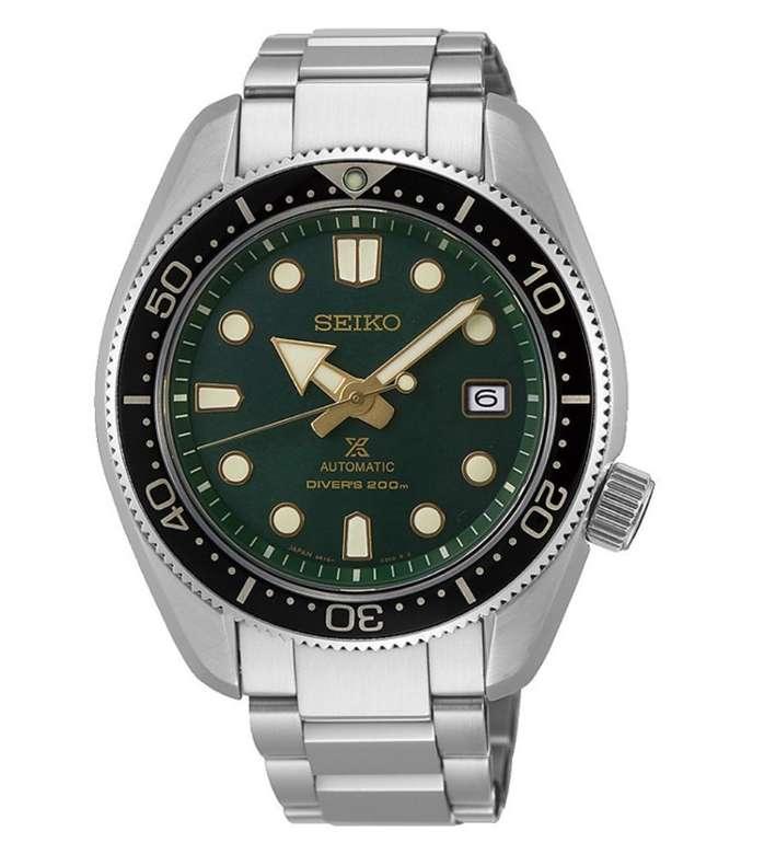 Seiko SPB105J1 Prospex Dark Green Sunset Diver Taucheruhr für 716,06€ inkl. Versand (statt 888€)