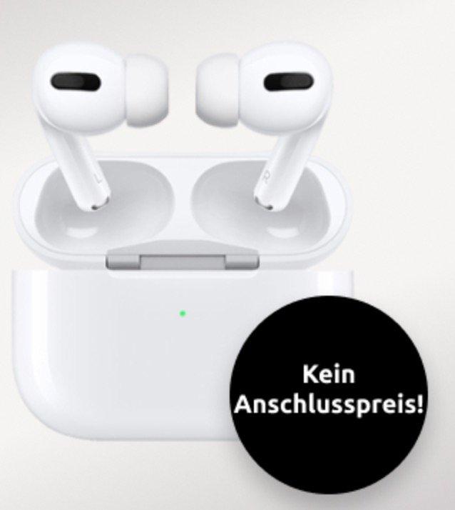 Apple Airpods Pro (1€) + Otelo Allnet-Flat Go mit 5GB LTE für 14,99€ monatlich (keine Anschlussgebühr!)