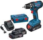 Bosch GSR 18-2-LI Akku-Bohrschrauber + 2x 1,5Ah Akkus, L-Boxx für 104,95€ (statt 117€)