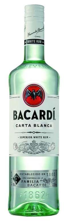 Bacardi Carta Blanca 37.5%, 1L für 13,90€ inkl. Versand (statt 19€)