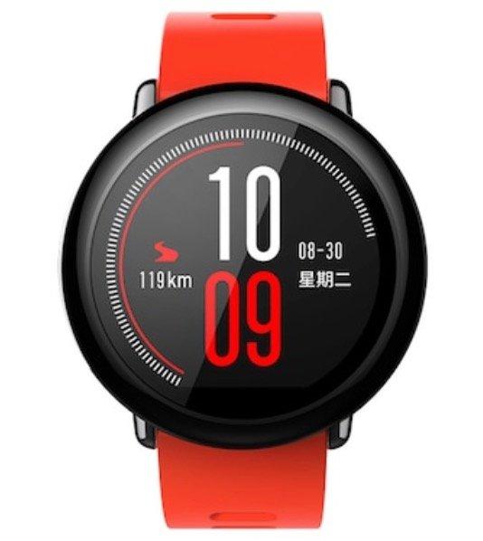 Xiaomi Huami Amazfit Pace Smartwatch in rot für 68,72€ inkl. Versand (statt 99€)