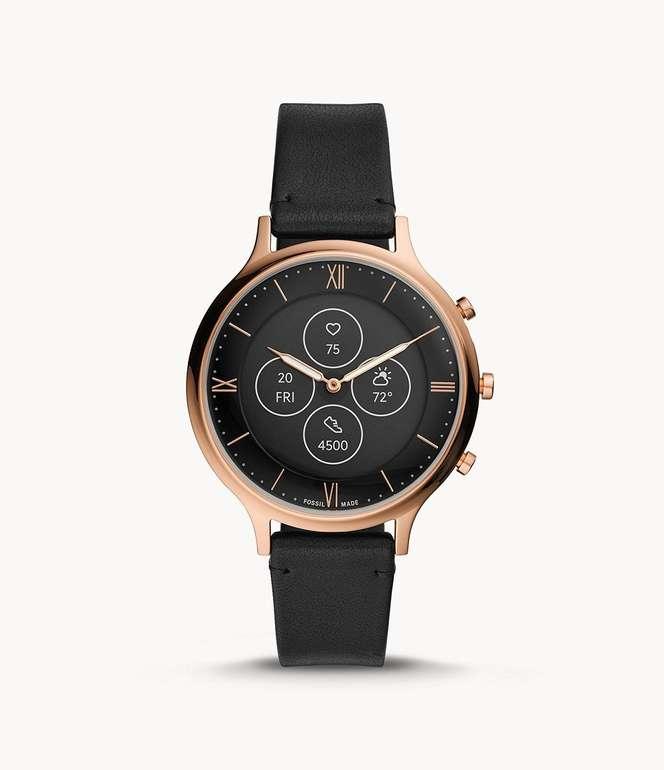 Fossil Damen Hybrid Smartwatch Charter HR für 118,15€ inkl. Versand (statt 173€)