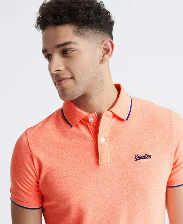 Superdry Herren Poloshirt in vers. Farben für 15,96€inkl. Versand (statt 35€)