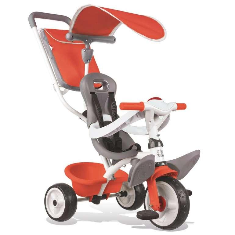 Smoby Dreirad Baby Balade Rot für 55,19€ inkl. Versand (statt 73€) + 10-fach babypoints