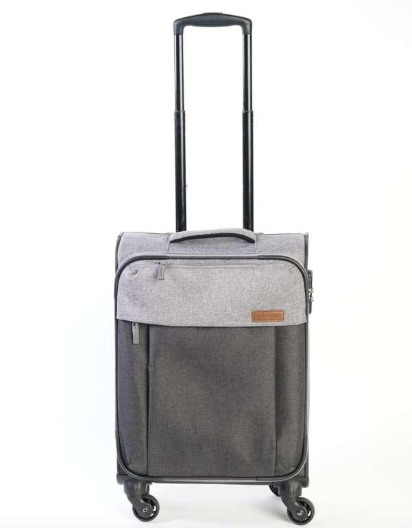 Travelite Trolley Koffer (55x38x20cm, 32 Liter, 2,6kg, Anthrazit/Grau) für 20,93€ inkl. Versand (statt 50€)