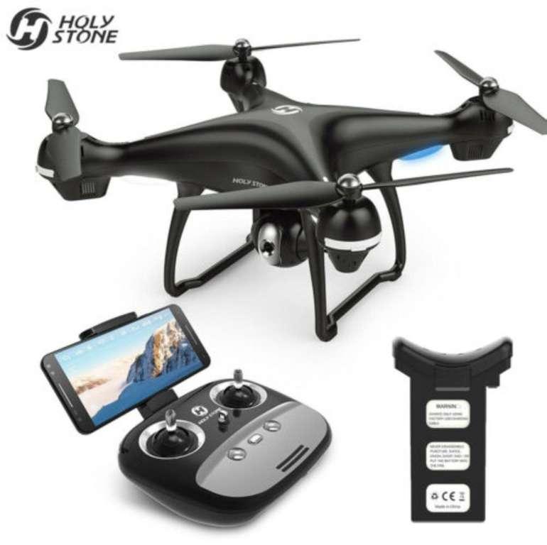 HolyStone HS100 FPV Drohne mit 1080P HD Kamera (GPS, Follow Me) für 128,69€ (statt 160€)