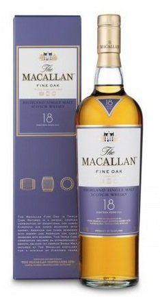 Macallan Single Highland Malt 18 Jahre Fine Oak für 157,24€ inkl. VSK (st. 190€)