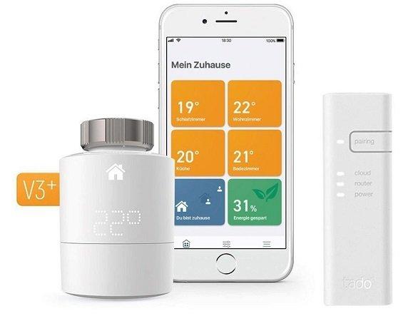 20% Rabatt auf alle Tado Produkte bei Tink, z.B. Smartes Thermostat als Set 91€