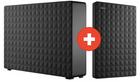 8TB Seagate Expansion Desktop (3,5″) + 2TB Expansion+ Portable (2,5″) für 189€