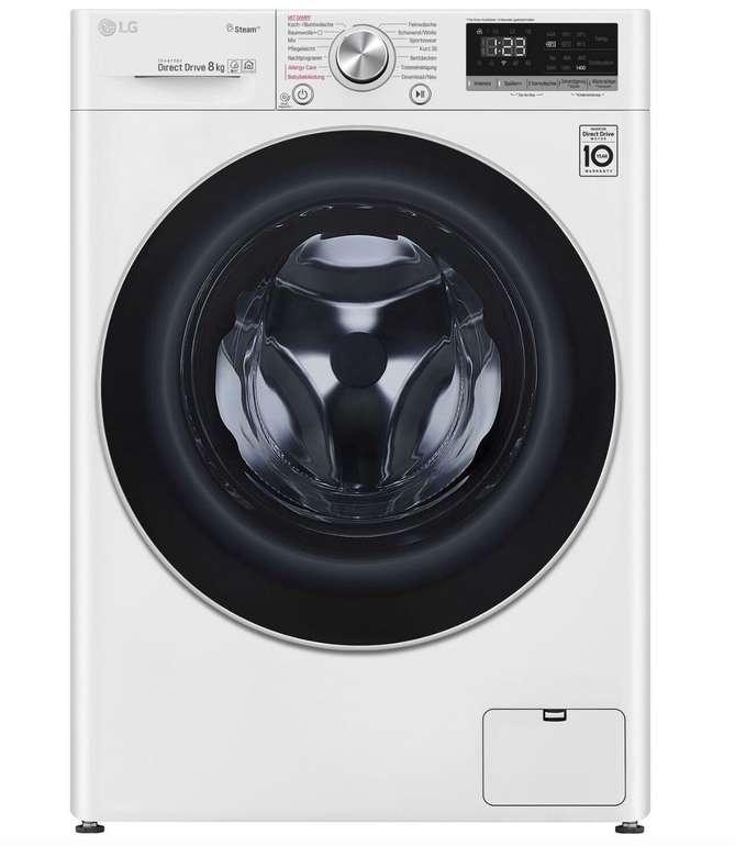 LG V4W800 - 8kg Waschmaschine mit Smart ThinQ (A+++) für 399€ inkl. Versand (statt 578€)