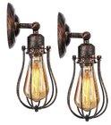 2er Pack KingSo rustikale vintage Wandlampen für 23,09€ inkl. VSK
