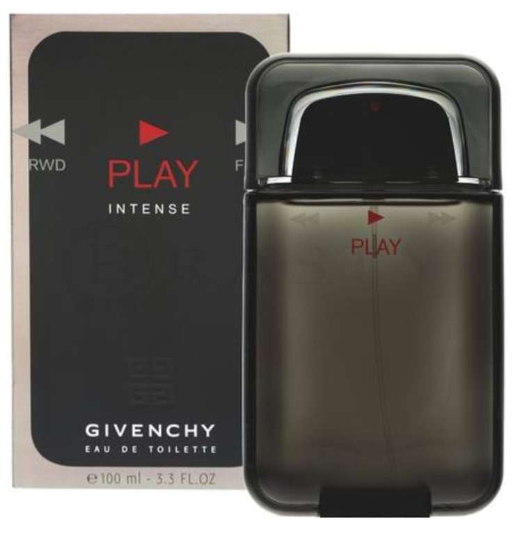 100ml Givenchy Play Intense Eau de Toilette für Herren nur 62,20€ inkl. Versand (statt 85€)