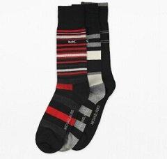 Michael Kors Socken reduziert z.B. 3er Set gestreifte Socken 9,99€ (statt 18)