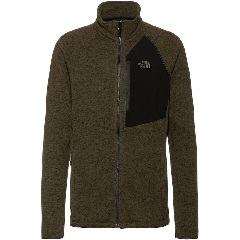 The North Face Fleecejacke 'Arashi II' in khaki / schwarz für 63,19€ (statt 74€)
