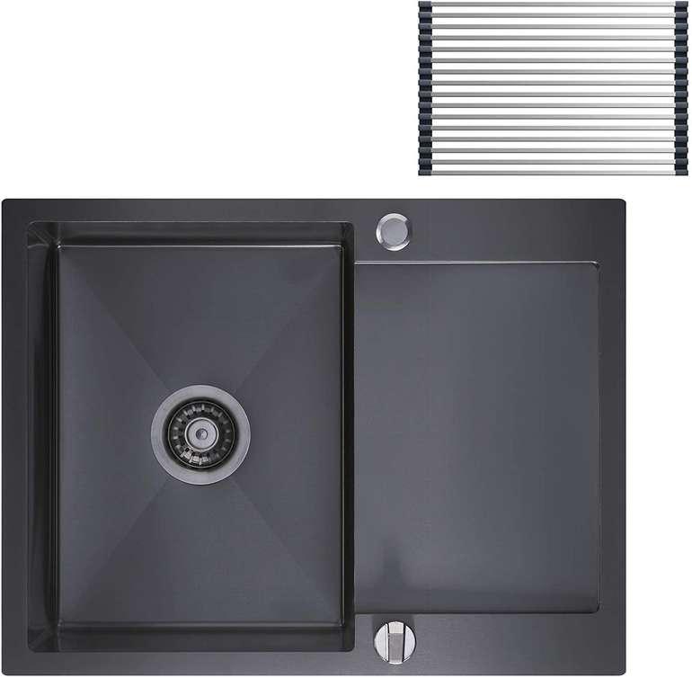 Cecipa Spüle (60x45cm) mit Über- und Ablaufgarnitur für 72,99€ inkl. Versand (statt 146€)