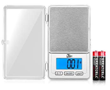 Uten Taschenwaage bzw. digitale Feinwaage (100g/0,01g) für 5,99€ mit Prime