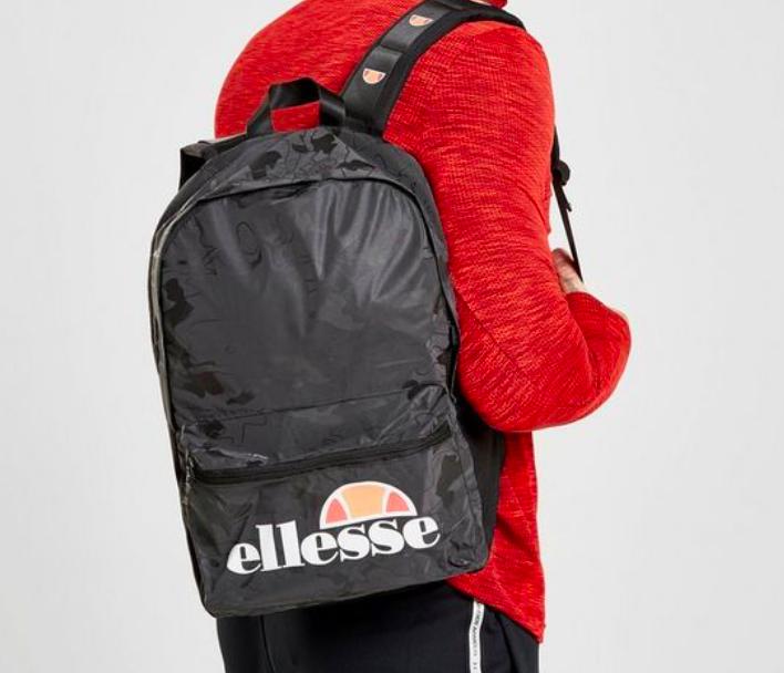 Ellesse Camo Backpack Rucksack für 15€ inkl. Versand (statt 30€)