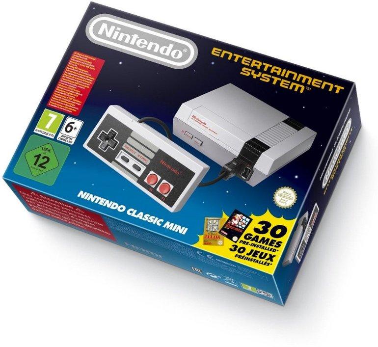 Nintendo Classic Mini Entertainment System (NES) für 58,99€ inkl. Versand (statt 85€)