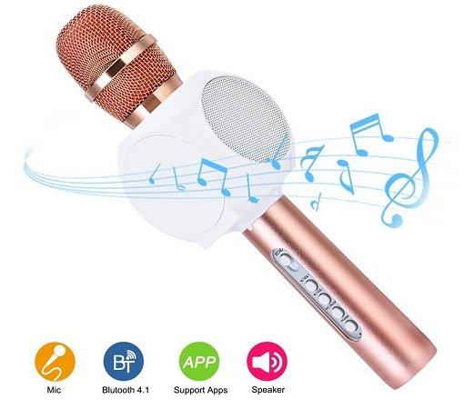 Vorbei! HURRISE Bluetooth Karaoke Mikrofon mit Lautsprecher kostenlos mit Prime