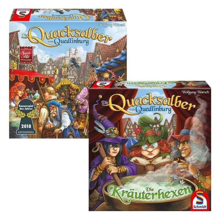 Schmidt Spiele: Die Quacksalber von Quedlinburg + Erweiterung Die Kräuterhexen für 39,90€
