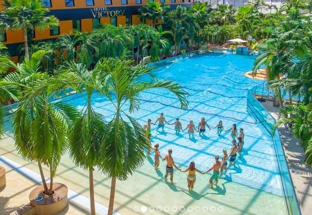 Eintritt Therme Erding + Übernachtung im 4* Hotel ab 59€ pro Person