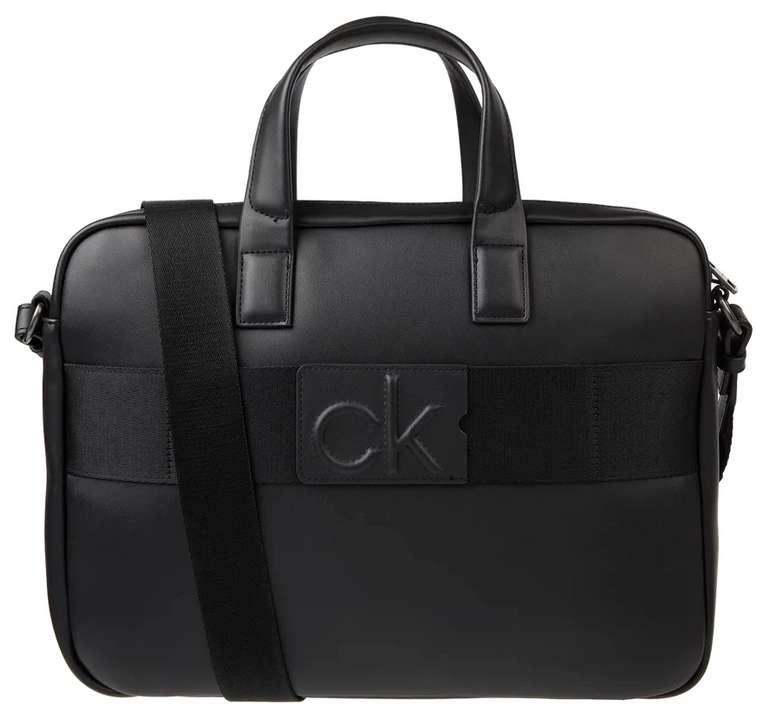 Stark! Calvin Klein Laptoptasche mit Logo-Applikationen für 39,99€inkl. Versand (statt 88€)