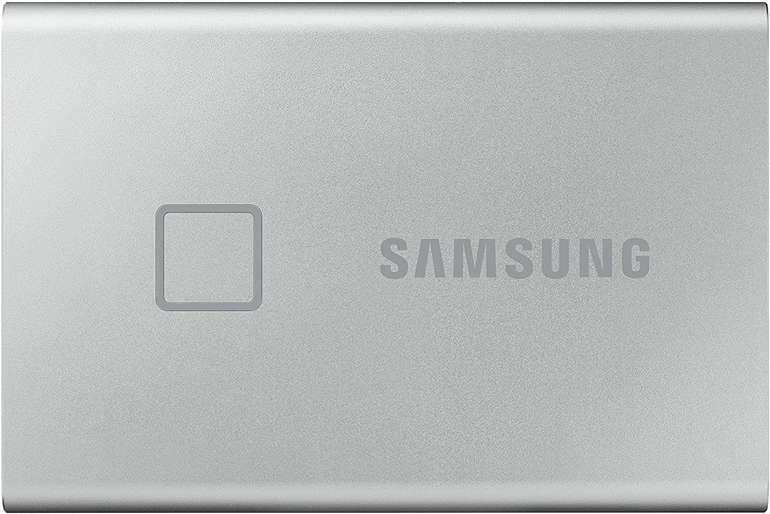 Samsung Portable SSD T7 Touch 500GB mit Typ-C für 74,89€ inkl. Versand (statt 93€)