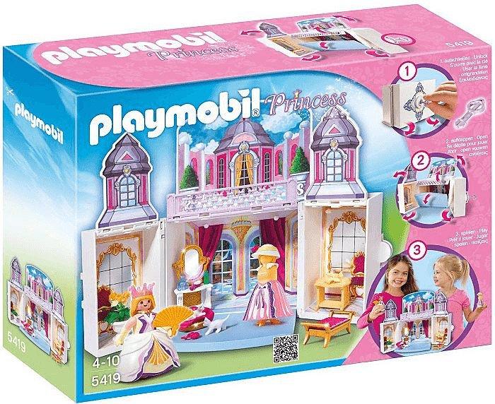 Playmobil Princess 5419 - Aufklapp-Spiel-Box Schlösschen für 21,31€ (statt 40€)