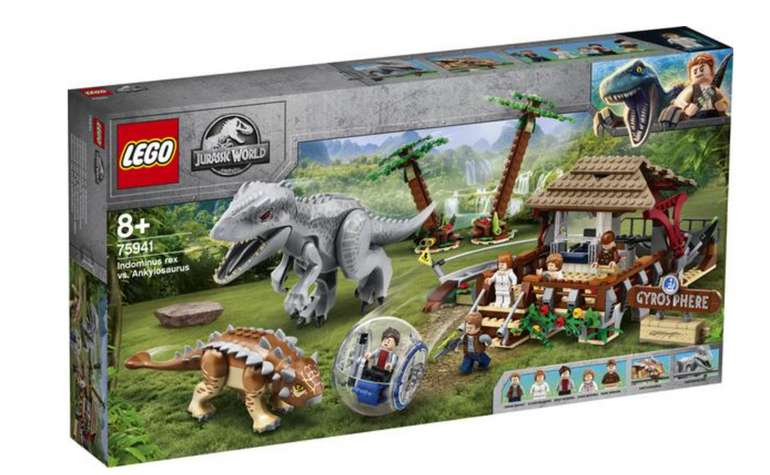 Lego Jurassic World (75941) Indominus Rex vs. Ankylosaurus für 69,51€inkl. Versand (statt 90€) - Thalia Club!