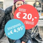 Sparhandy U20€ Deals - z.B. Blau Allnet XL + Huawei Nova 2 für 19,99€ mtl.